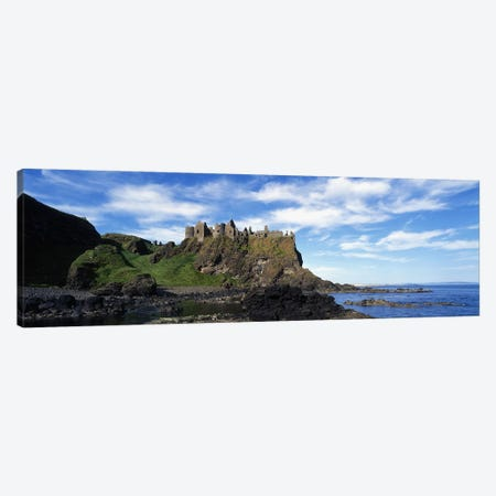 Dunluce Castle, County Antrim, Northern Ireland, United Kingdom Canvas Print #PIM2931} by Panoramic Images Canvas Print