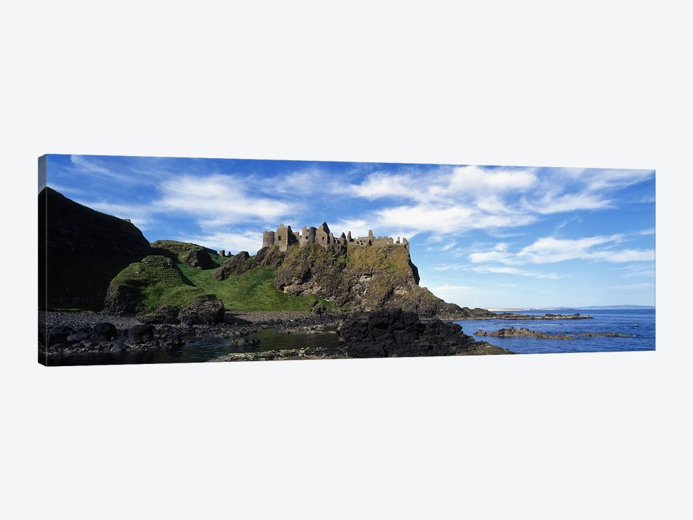 Dunluce Castle, County Antrim, Northern Ireland, United Kingdom by Panoramic Images 1-piece Canvas Wall Art