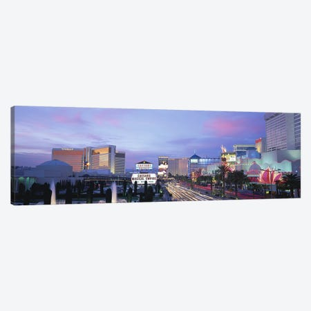The StripLas Vegas, Nevada, USA Canvas Print #PIM2932} by Panoramic Images Canvas Print