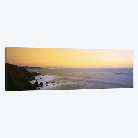 High angle view of rock formations in the seaPacific Ocean, San Francisco, California, USA Canvas Print #PIM2934} by Panoramic Images Canvas Art