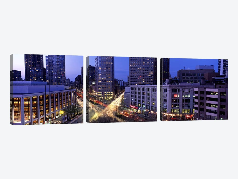 Upper West Side, NYC, New York City, New York State, USA by Panoramic Images 3-piece Canvas Art