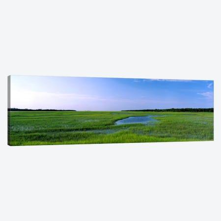 USA, Florida, Jacksonville, Atlantic Coast, Salt Marshes Canvas Print #PIM293} by Panoramic Images Canvas Art Print