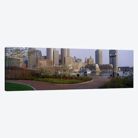 Buildings in a cityBoston, Massachusetts, USA Canvas Print #PIM2942} by Panoramic Images Canvas Artwork