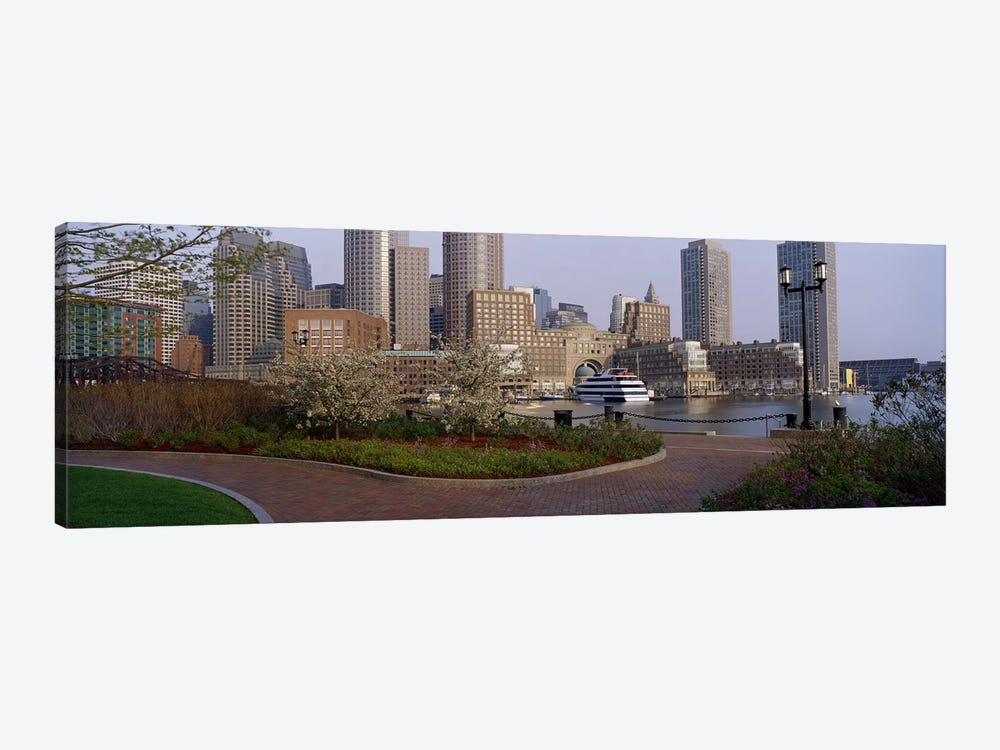 Buildings in a cityBoston, Massachusetts, USA by Panoramic Images 1-piece Canvas Artwork