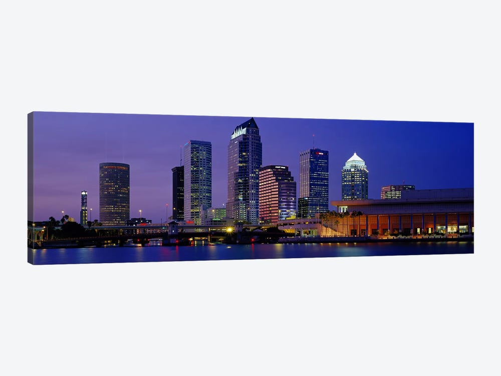 Tampa FL USA by Panoramic Images 1-piece Canvas Art Print