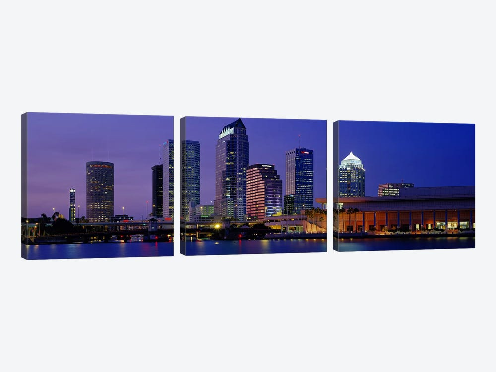 Tampa FL USA by Panoramic Images 3-piece Art Print
