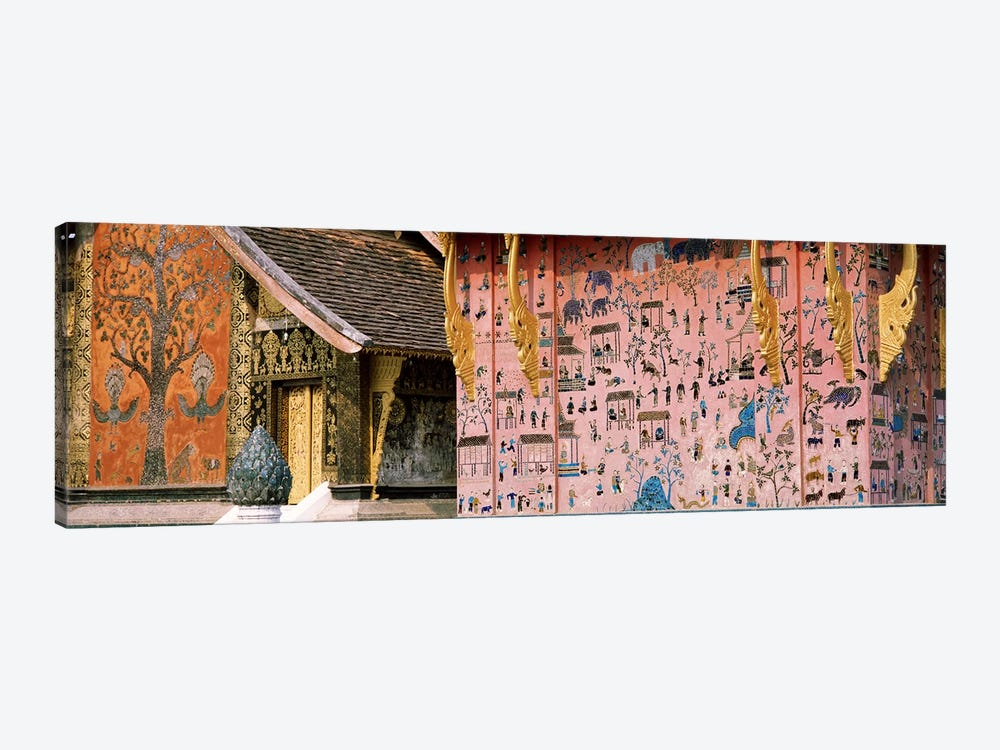 MosaicWat Xien Thong, Luang Prabang, Laos by Panoramic Images 1-piece Canvas Art Print
