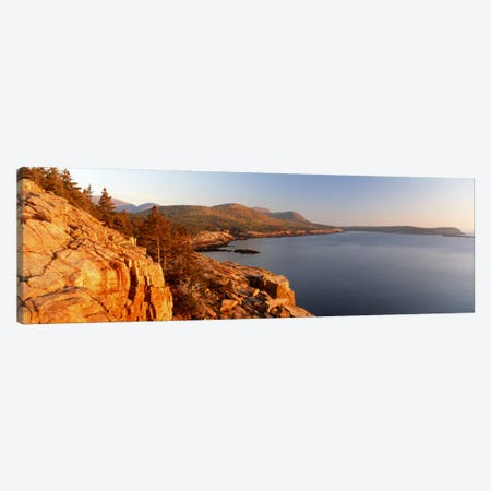 Coastal Landscape, Mount Desert Island, Acadia National Park, Maine, USA Canvas Print #PIM294} by Panoramic Images Canvas Artwork