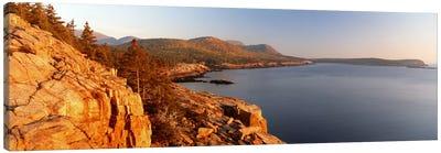 Coastal Landscape, Mount Desert Island, Acadia National Park, Maine, USA Canvas Art Print