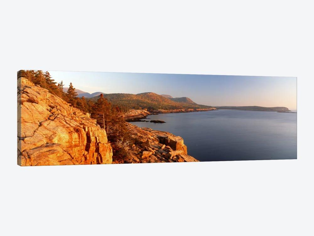 Coastal Landscape, Mount Desert Island, Acadia National Park, Maine, USA by Panoramic Images 1-piece Canvas Art