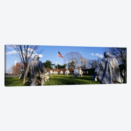 Korean Veterans Memorial Washington DC USA Canvas Print #PIM2952} by Panoramic Images Canvas Art Print