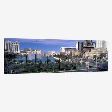 The Strip, Las Vegas, Nevada, USA #4 Canvas Print #PIM2964} by Panoramic Images Art Print