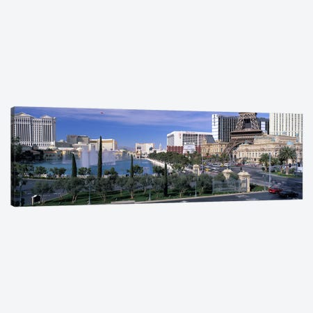 The Strip, Las Vegas, Nevada, USA #4 Canvas Print #PIM2964} by Panoramic Images Art Print