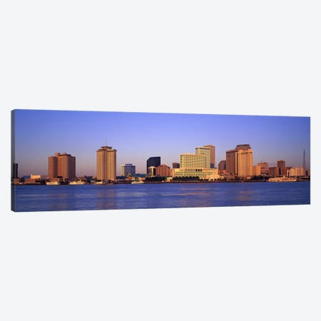 Sunrise, Skyline, New Orleans, Louisiana, USA Canvas Print #PIM2965} by Panoramic Images Art Print