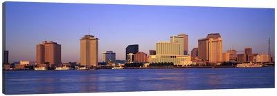 Sunrise, Skyline, New Orleans, Louisiana, USA Canvas Print #PIM2965