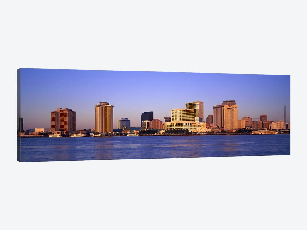 Sunrise, Skyline, New Orleans, Louisiana, USA 1-piece Art Print