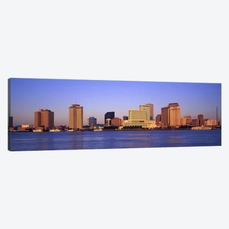 Sunrise, Skyline, New Orleans, Louisiana, USA Canvas Print #PIM2965} by Panoramic Images Art Print