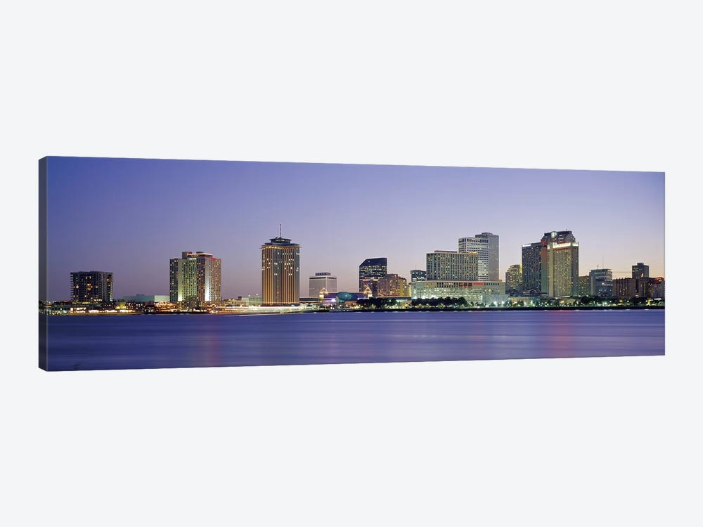Night New Orleans LA by Panoramic Images 1-piece Art Print