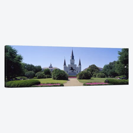 St Louis Cathedral Jackson Square New Orleans LA USA Canvas Print #PIM2969} by Panoramic Images Canvas Wall Art