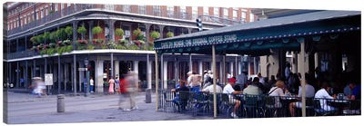 Cafe du Monde French Quarter New Orleans LA Canvas Print #PIM2970