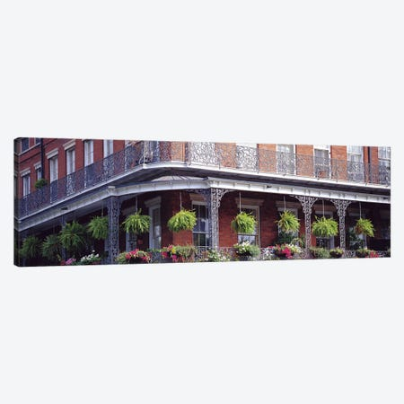 Jackson Square, French Quarter, New Orleans, Louisiana, USA Canvas Print #PIM2971} by Panoramic Images Art Print