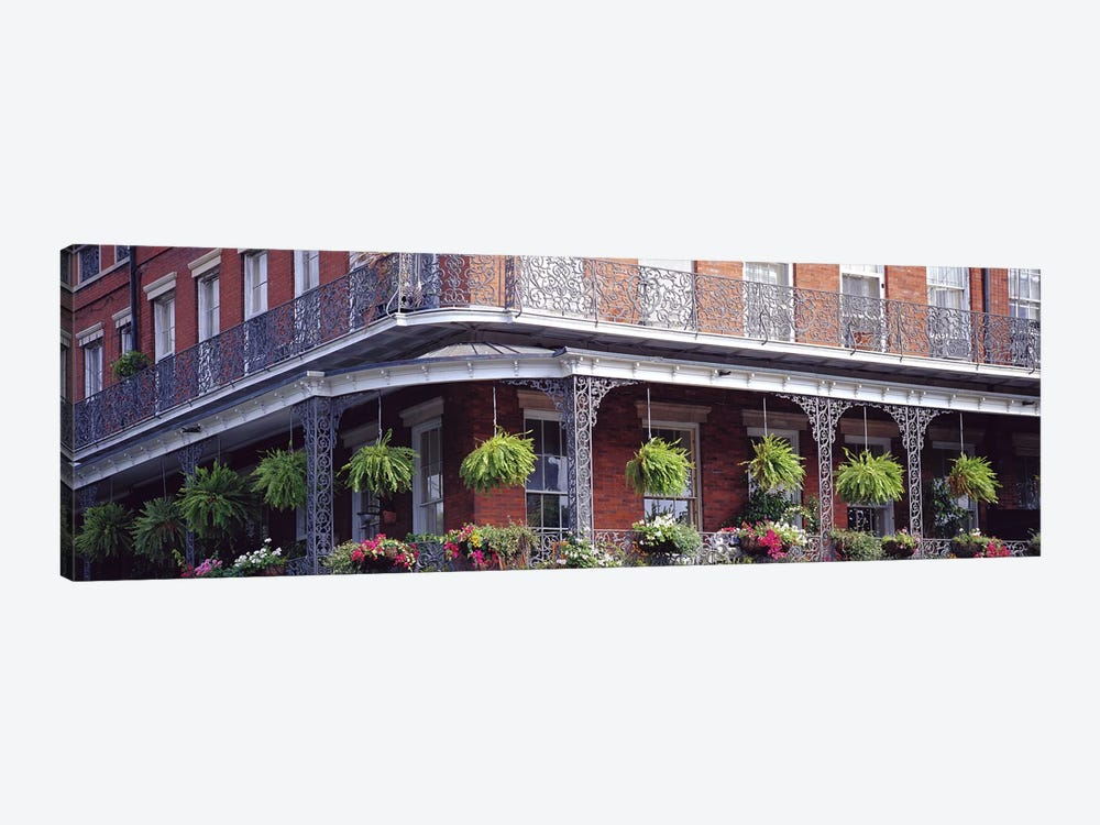 Jackson Square, French Quarter, New Orleans, Louisiana, USA by Panoramic Images 1-piece Canvas Artwork