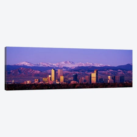 DenverColorado, USA Canvas Print #PIM2972} by Panoramic Images Canvas Print