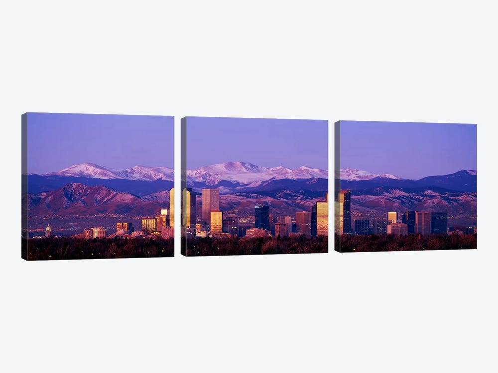DenverColorado, USA by Panoramic Images 3-piece Canvas Print