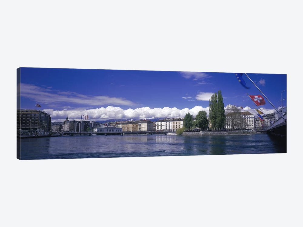 Rhone River Geneva Switzerland by Panoramic Images 1-piece Canvas Art Print