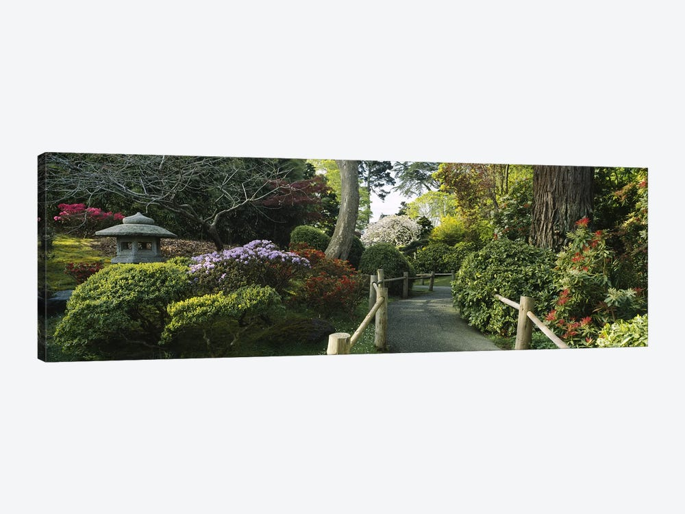 Japanese Tea Garden, San Francisco, California, USA by Panoramic Images 1-piece Art Print