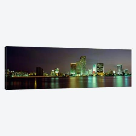 Miami FL USA Canvas Print #PIM297} by Panoramic Images Canvas Artwork
