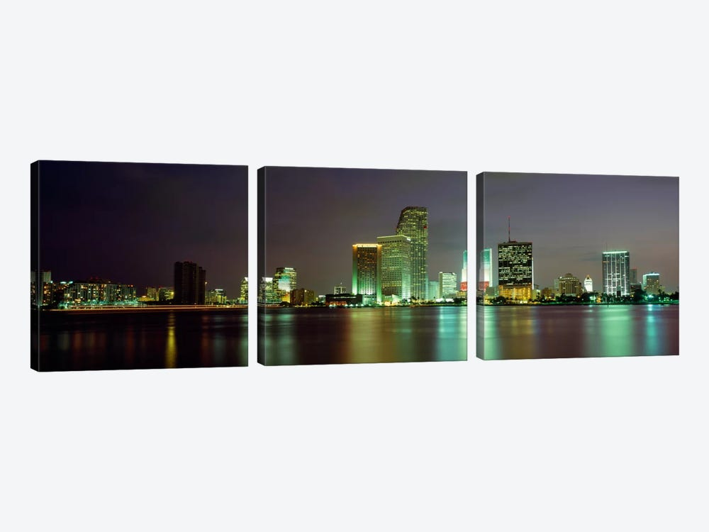 Miami FL USA by Panoramic Images 3-piece Canvas Art Print