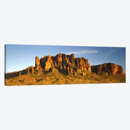 Superstition Mountain, Superstition Wilderness Area, Tonto National Forest, Arizona, USA Canvas Print #PIM2986} by Panoramic Images Canvas Art Print