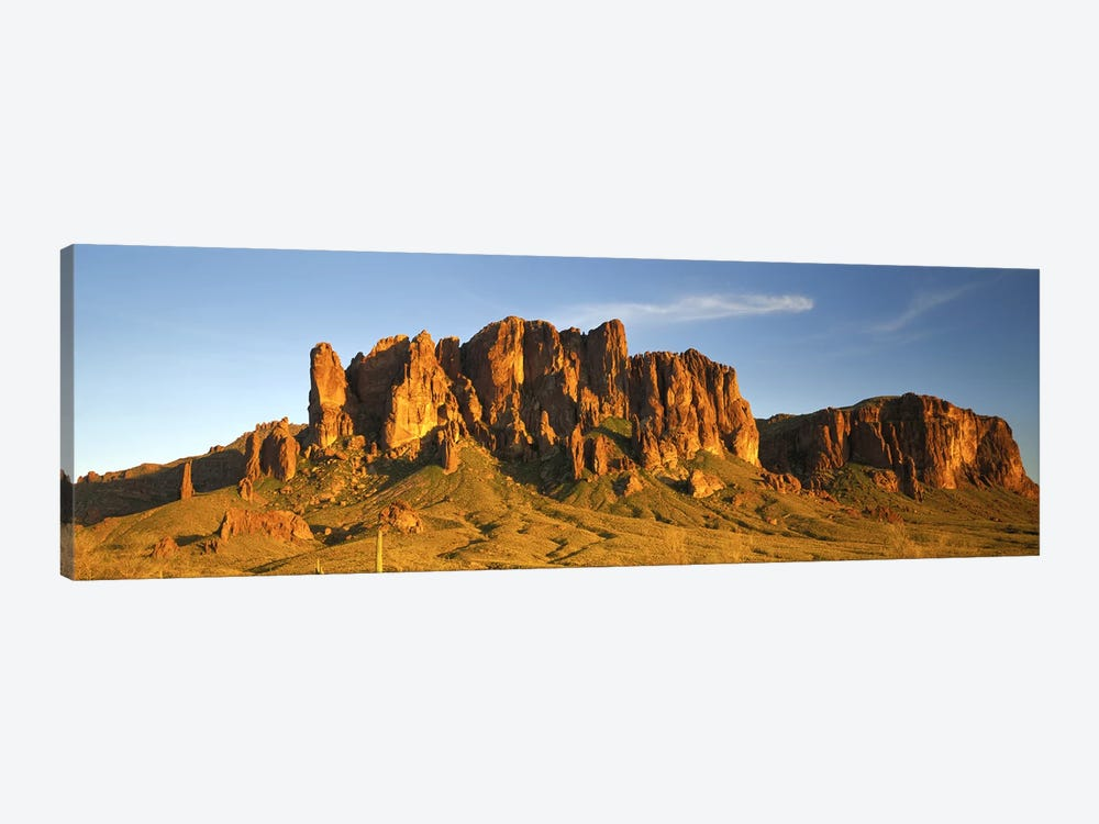 Superstition Mountain, Superstition Wilderness Area, Tonto National Forest, Arizona, USA by Panoramic Images 1-piece Canvas Art