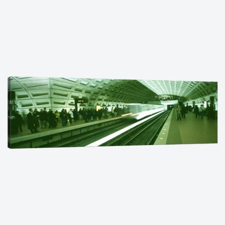 Metro Station Washington DC USA Canvas Print #PIM2989} by Panoramic Images Canvas Art