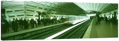 Metro Station Washington DC USA Canvas Print #PIM2989