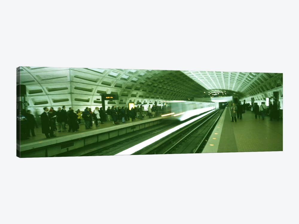 Metro Station Washington DC USA by Panoramic Images 1-piece Canvas Art Print