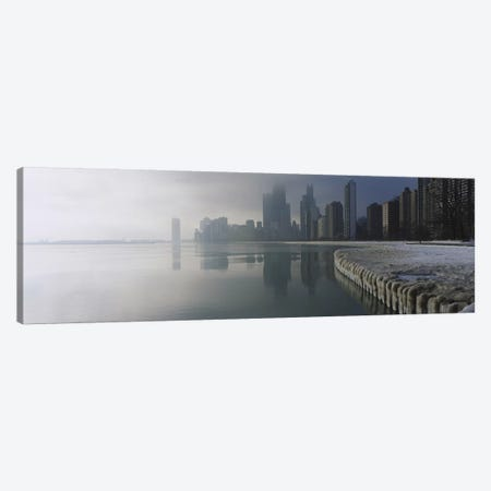 Buildings at the waterfront, Lake Michigan, Navy Pier, Michigan, Chicago, Cook County, Illinois, USA Canvas Print #PIM2992} by Panoramic Images Canvas Art Print
