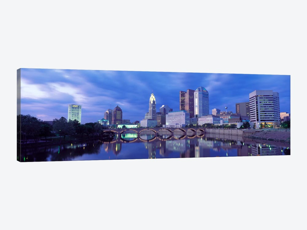 USA, Ohio, Columbus, Scioto River by Panoramic Images 1-piece Art Print