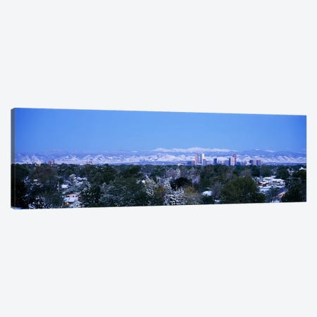 Buildings in a city, Denver, Colorado, USA Canvas Print #PIM3001} by Panoramic Images Canvas Artwork