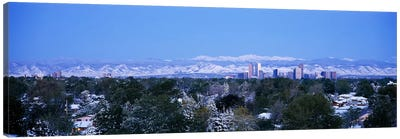 Buildings in a city, Denver, Colorado, USA Canvas Print #PIM3001
