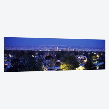 Buildings in a city, Denver, Denver County, Colorado, USA Canvas Print #PIM3002} by Panoramic Images Canvas Art