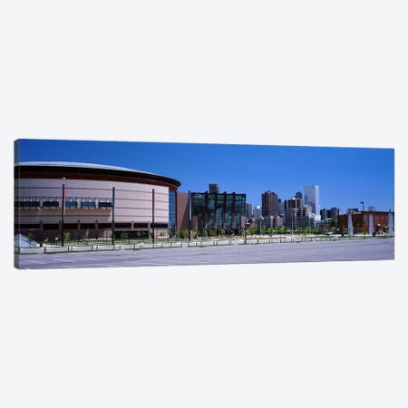 USA, Colorado, Denver, skyline Canvas Print #PIM3004} by Panoramic Images Canvas Art Print