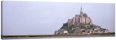 Mont St Michel Normandy France Canvas Print #PIM3008