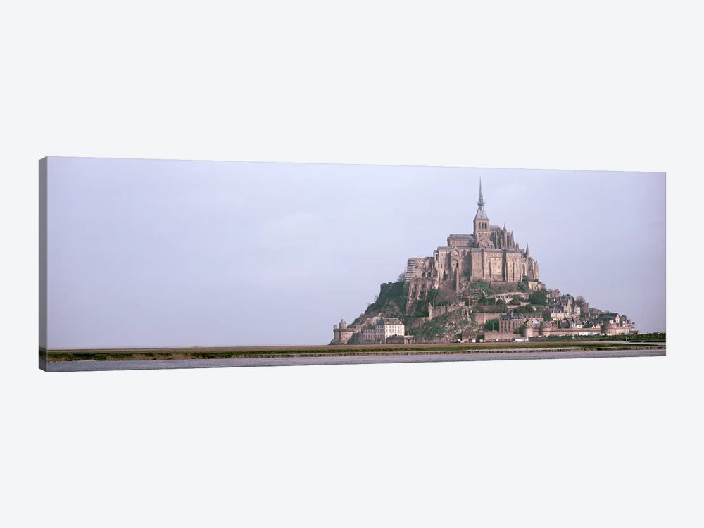 Mont St Michel Normandy France by Panoramic Images 1-piece Canvas Wall Art