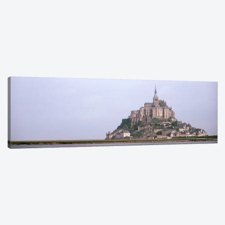 Mont St Michel Normandy France Canvas Print #PIM3008} by Panoramic Images Canvas Art
