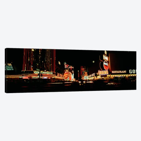 Las Vegas NV Downtown Neon, Fremont St Canvas Print #PIM300} by Panoramic Images Canvas Print