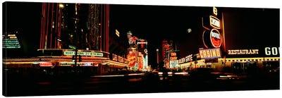 Las Vegas NV Downtown Neon, Fremont St Canvas Print #PIM300