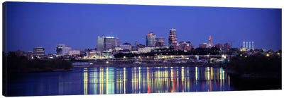 Evening Kansas City MO Canvas Art Print