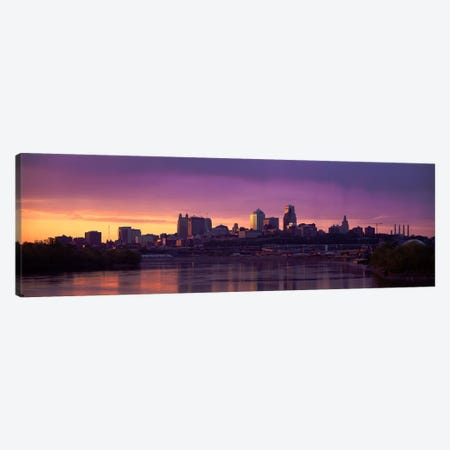 Dawn Kansas City MO Canvas Print #PIM3020} by Panoramic Images Canvas Art